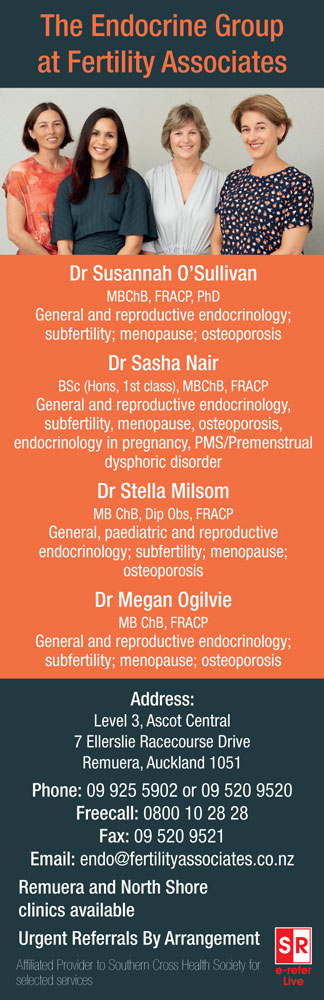 The Endocrine Group at Fertility Associates