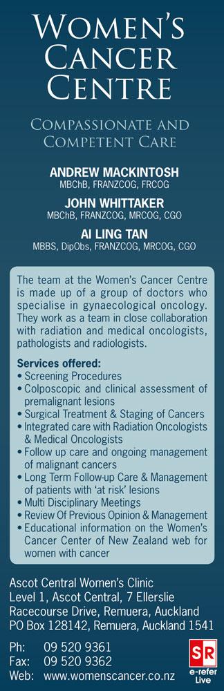 Womens Cancer Centre