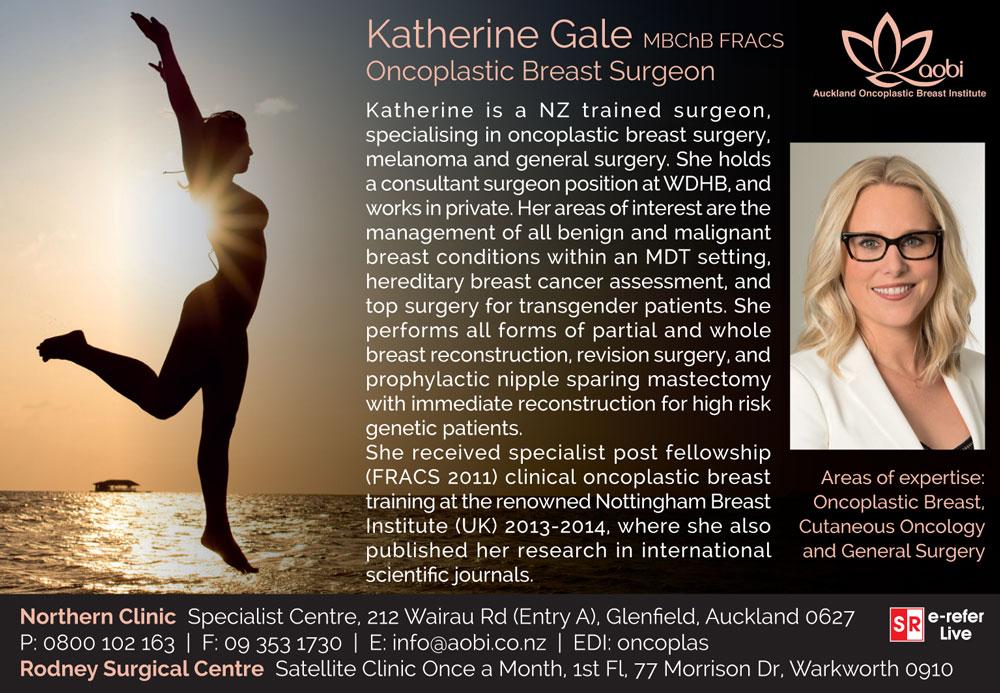 Dr Katherine Gale