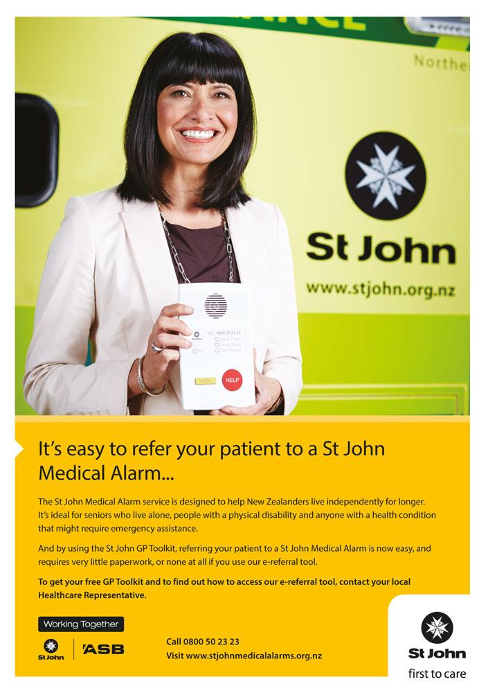 St John Medical Alarms