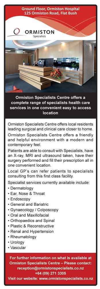 Ormiston Specialist Centre