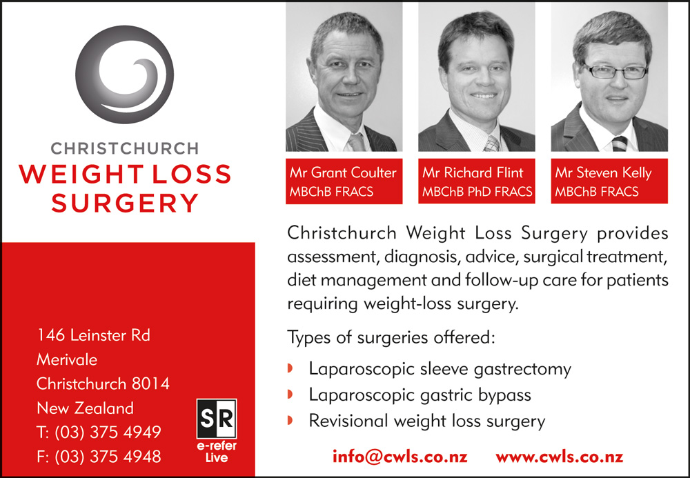 Christchurch Weight Loss Surgery