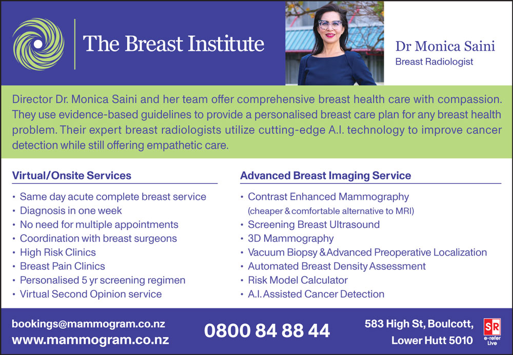 The Breast Institute New Zealand