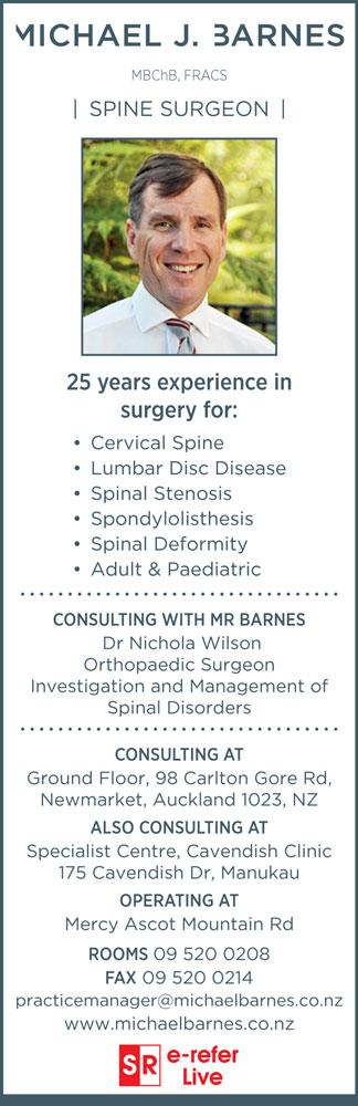 Dr Michael Barnes