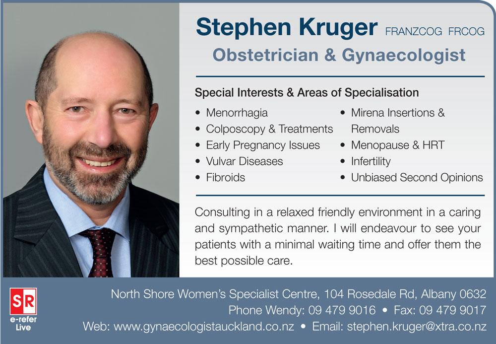 Dr Stephen Kruger