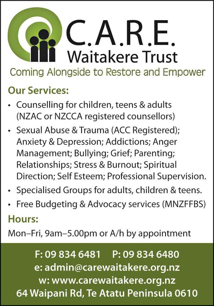 CARE Waitakere Trust