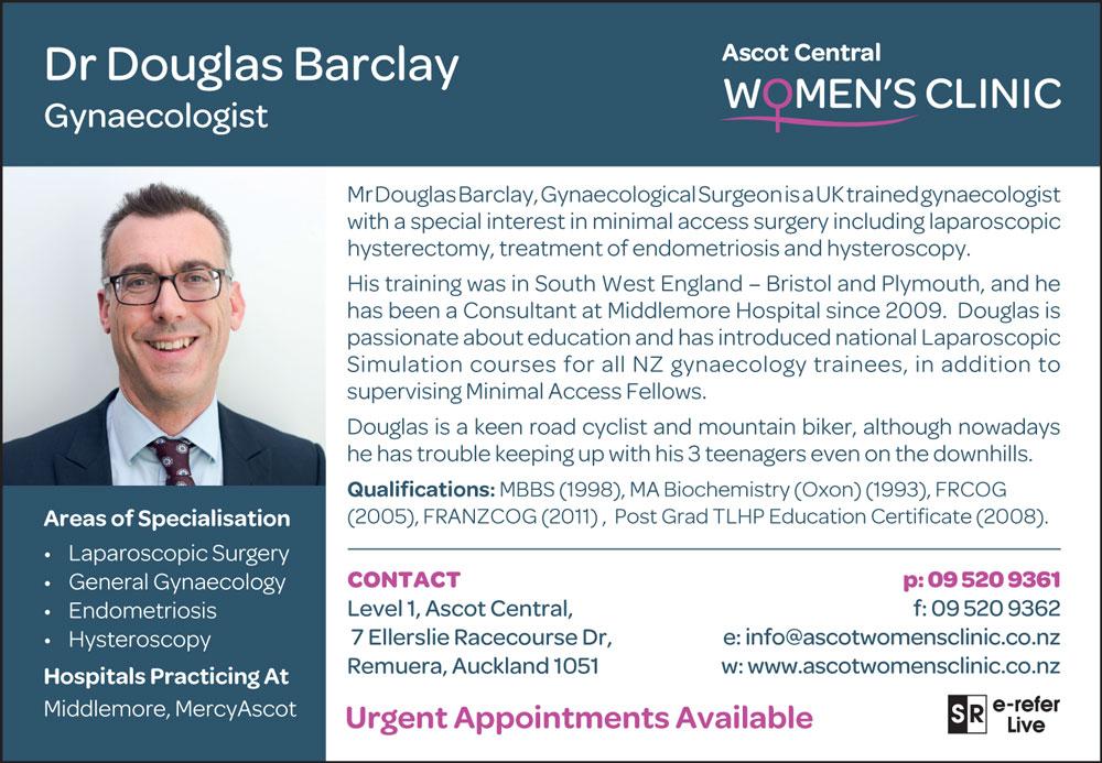 Dr Douglas Barclay
