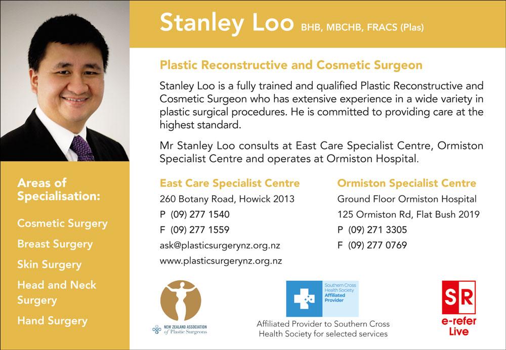 Mr Stanley Loo