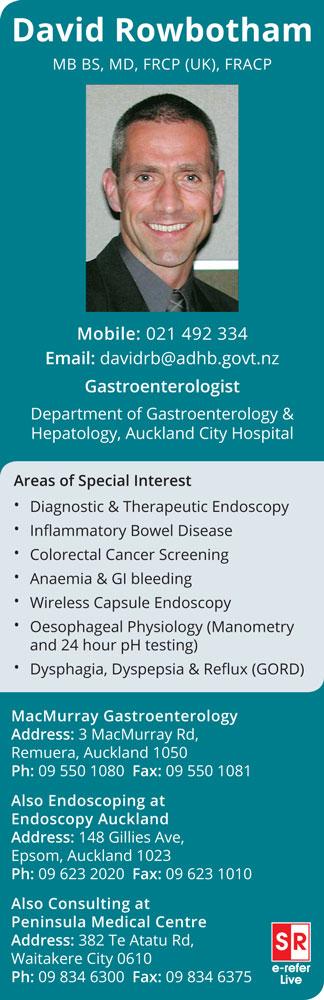 Dr David Rowbotham